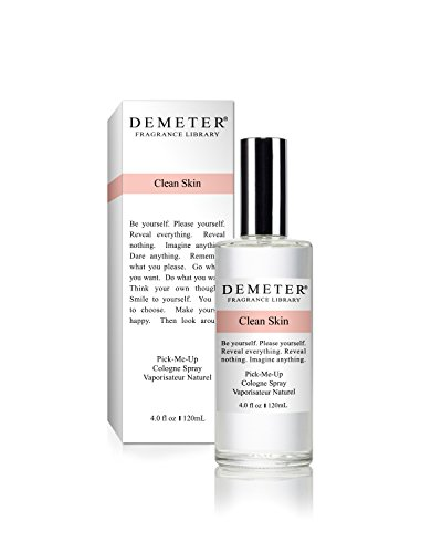 Clean Cologne Spray (Demeter Clean Skin Cologne Spray for Unisex, 4 Ounce)