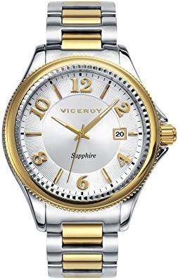 Viceroy 47887–95 - Reloj para Hombre Colección Penélope Cruz, Acero Bicolor
