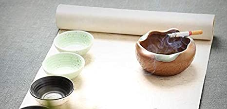 Amazon.com: Cenicero de cerámica Kefbhefe, cenicero de ...