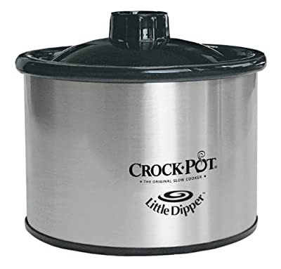 Crock-Pot 32041-C 16-Ounce Little Dipper, Chrome