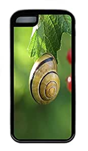 for iphone 4/4s Case Snail TPU Custom for iphone 4/4s Case Cover Black