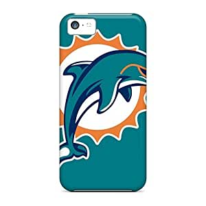 Hot Snap-on Miami Dolphins Hard Cover Case/ Protective Case For Iphone 5c
