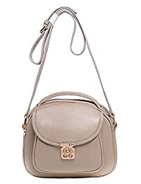 SAIERLONG New Womens Cowhide Genuine Leather Cross Body Bags Shoulder Bags