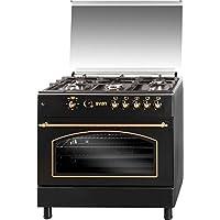 SVAN SVK9561FN Range cooker Encimera de gas Negro