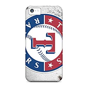 Iphone 5c AKO14280JZZp Customized High-definition Texas Rangers Skin Anti-Scratch Hard Phone Cases -JonathanMaedel