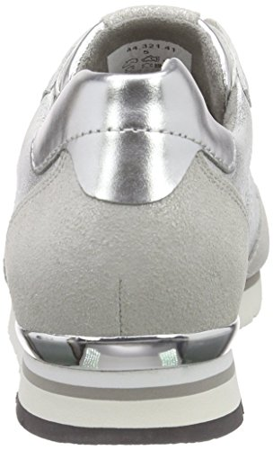 Gabor Women's Low-Top Sneakers Multicoloured (41 Argento/Ice/Silber) bosNz