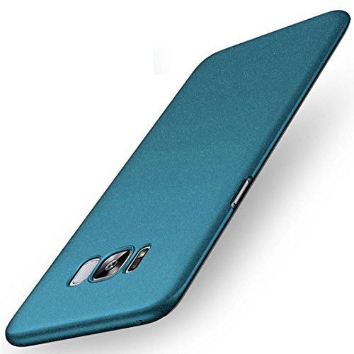 Price comparison product image Mchoice New Fashion Hard PC Back Case Cover Protect for Samsung Galaxy S8 5.8inch (Sky Blue)
