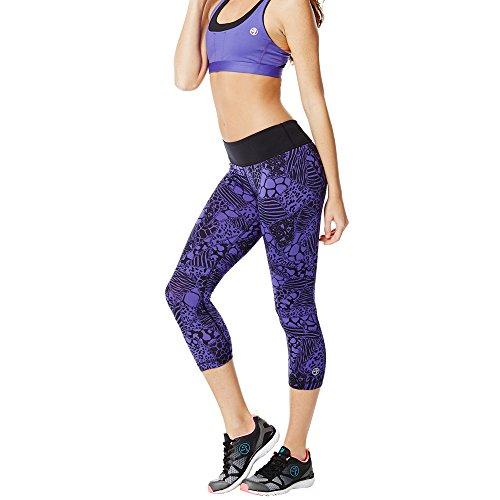 Zumba Fitness Womens Electric Leggings