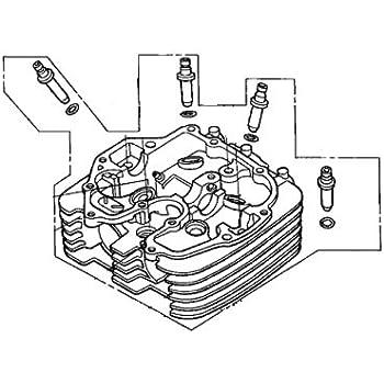 Amazon Com Honda 12200 Hn0 A00 Cylinder Head Automotive