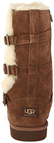 Ugg Australia K Maddi Chocolat Youths Boots Size 4 UK