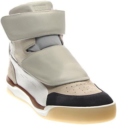 Alexander McQueen By Puma McQ Move Mid Men US 10 Tan Sneakers (Alexander Mcqueen Men Sneakers)