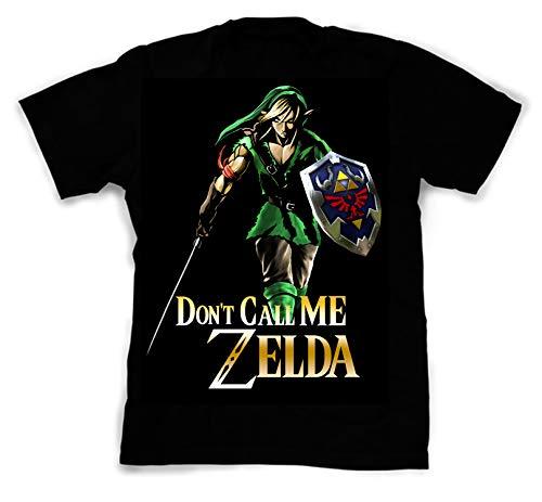 NovaTees Pop Culture Legend Zelda's Link Inspired Fan Art Custom Made Designed T-Shirts Tees; Size: Small]()