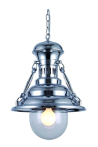 Domed Metal Pendant Light Shade - 7