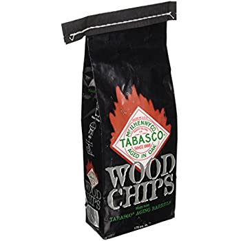 Char-Broil Tabasco Wood Smoker Chips, 2-Pound Bag