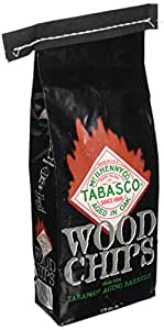 Char-Broil Tabasco Wood Smoker Chips, 2-Pound Bag