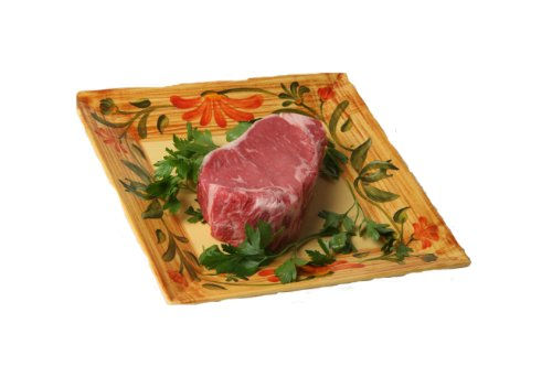New York Prime Meat USDA Prime 21 Day Aged Beef Loin NY Strip Steak Boneless, 1-inch thick, 2-Count, 16-Ounce Packaged in Film & Freezer Paper