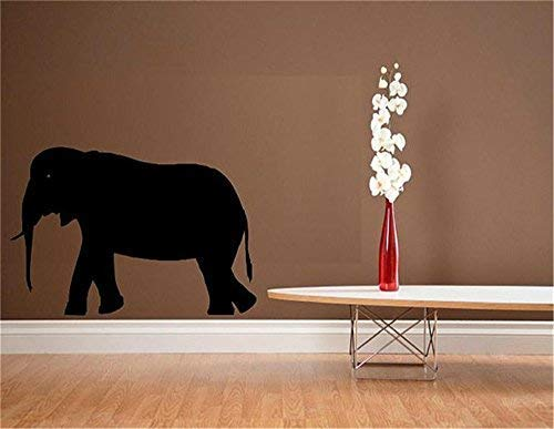 LilithCroft99 Elephant Silhouette Wall Decals Quotes Vinyl Wall Stickers for Home Decorations