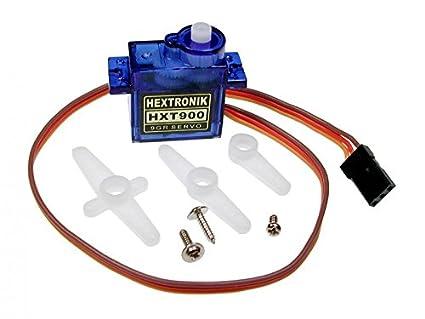Amazon.com: HXT900 9g / 1.6kg / .12sec Micro Servo: Toys & Games