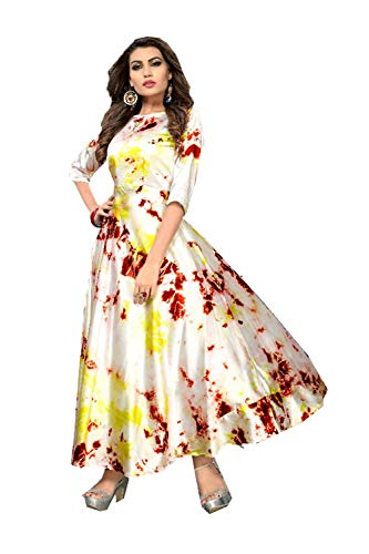 Designer 2 Kurti Cream Da Ethnic Facioun Indian Readymade Women Partywear Traditonal qqwptF8v