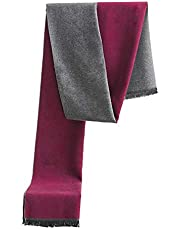 Scarf for Men Cashmere Scarfs Super Warm Wool Scarf for Winter