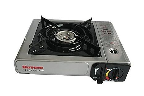 Cocina portátil de gas Butsir - Ideal para camping, catering, barcos, aire libre
