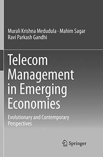 Telecom Management in Emerging Economies: Evolutionary and Contemporary Perspectives-cover