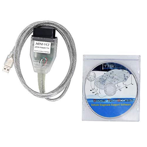 SZ-TONDA Mini VCI Techstream J2534 Cable - V2 0 4 Firmware