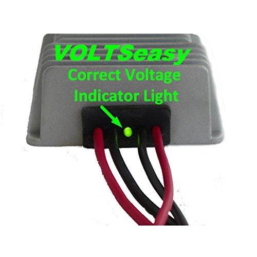 TecScan VOLTSeasy Golf Cart Voltage Reducer for 36v & 48v 20 amp 240 watt