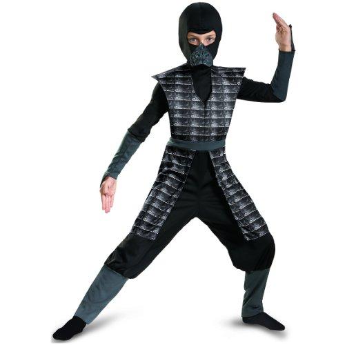 Disgu (Black Evil Ninja Kids Costumes)
