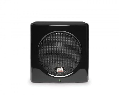 PSB SubSeries 100 GLSB Compact Powered Subwoofer Gloss Black by PSB