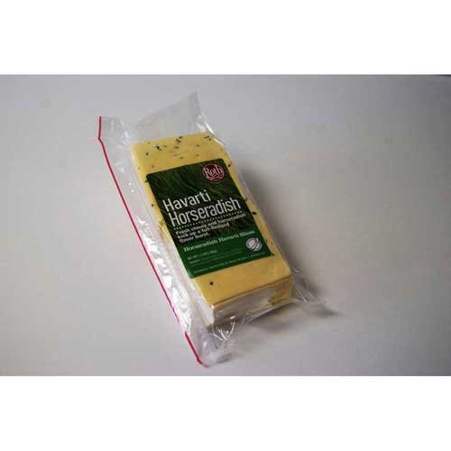 Roth Cheese, Horseradish and Chive Havarti Slices, 1.5 Pound -- 8 per case. by Roth Kase