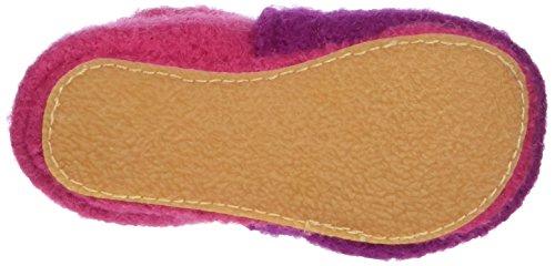 Nanga 11/0209 - Zapatos de primeros pasos para bebé-niñas Rosa (beere/24)