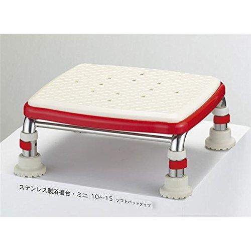 アロン化成 浴槽台 安寿ステンレス浴槽台Rソフトクッションタイプ(2)12-15 536-452 ds-1547892   B01AP5XH0E
