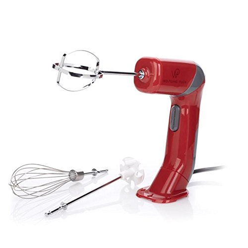 Wolfgang Puck Twist and Mix 2-Speed Hand Mixer with 3 Positions Assorted Colors