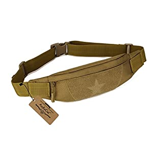 ArcEnCiel Military Tactical Waist Pack for Men Fanny Pack Fishing Bags Army Money Belt Sport Travel Cycling Mobile Phone Pouch