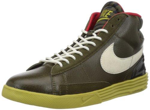 Blazers Nike Gold (Nike Lunar Blazer - Dark Loden / Sail-Parachute Gold-Black, 9 D US)