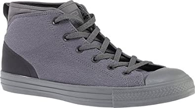 802e4e96604 Converse Men s Chuck Taylor All Star Syde Street Mid Sneaker Charcoal Grey  155491C ...