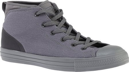 Converse Mens Chuck Taylor All Star Syde Straat Midi Sneaker Charcoal Grijs 155491c