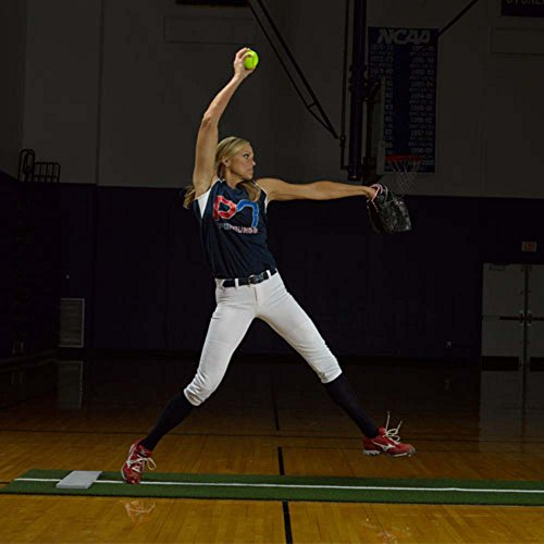 Jennie Finch Pitching Mat with Power Line