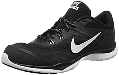 Nike Womens Flex Trainer 5 Running Shoe,  Black/Anthracite/White - 5 B(M) US