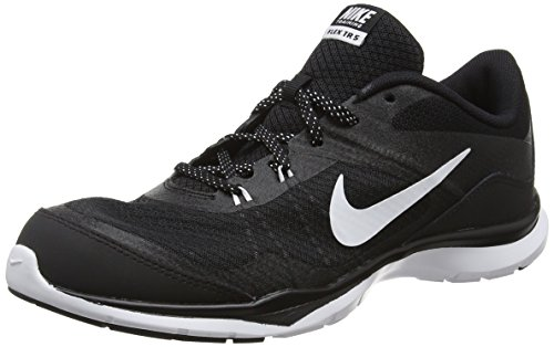 Nike Womens Flex Trainer 5 Running Shoe, Black/Anthracite/White - 6 B(M) US