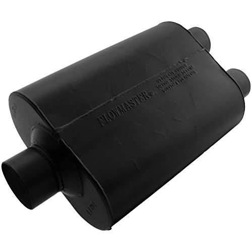 Flowmaster 9530452 Super 40 Muffler - 3.00 Center IN / 2.50 Dual OUT - Aggressive Sound