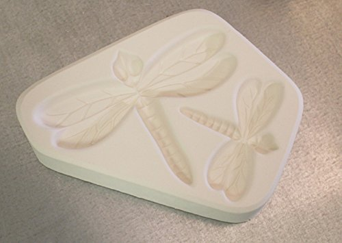 2 Small Dragonfly's Texture Mold for Glass Fusing Lf115 ()
