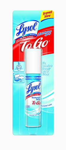 Lysol To Go Disinfectant Spray, Crisp Linen, 12oz (12X1oz)