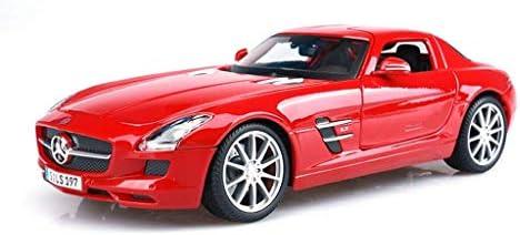 YN モデルカー 1:32スケールメルセデスベンツSLS AMG GTガルウィング合金車プルバックダイキャストモデル車のおもちゃコレクションギフトおもちゃの男の子子供 ミニカー
