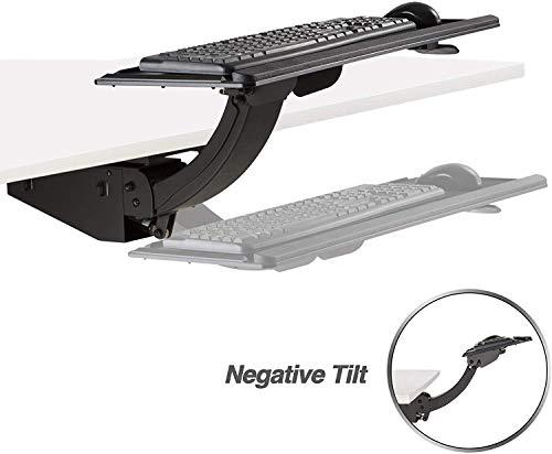 adjustable height keyboard tray - 3