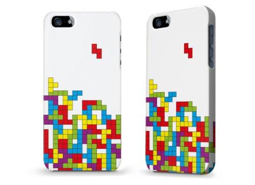 """Hülle / Case / Cover für iPhone 5 und 5s - """"Tetris"""""""