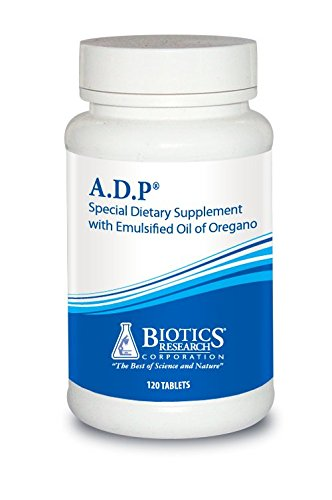 Biotics Research A.D.P. © - Highly Concentrated Oil of Oregano, Optimal Absorption and Delivery. Antioxidant, Supports Microbial Balance
