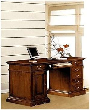 Mesa de escritorio para oficina, madera maciza, estilo arte pobre ...