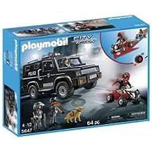 Playmobil City Action 5647 Swat Suv 64 pc